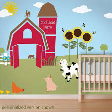 Farm Animal Stencils Farm Wall Mural Kit My Wonderful Walls