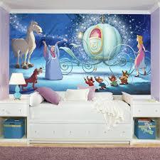 Disney Princess Cinderella Carriage Xl 7 Piece Mural Wall Decal