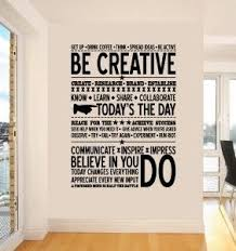 Be Creative Wall Sticker Cool Office Space Creative Office Space Cool Office