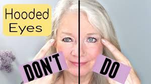 downturn or eye makeup