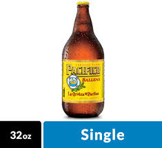 Pacifico Clara Mexican Lager Beer, 32 fl oz Bottle, 4.4% ABV ...