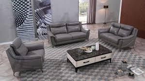 dark tan genuine leather sofa set ae