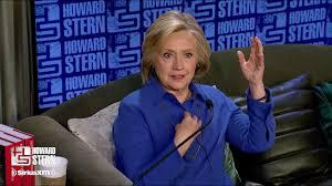 Hillary Clinton on the Howard Stern Show Pt. 5 - YouTube
