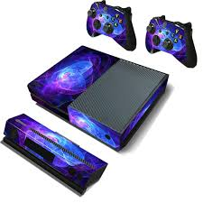 Purple Protective Vinyl Decal Skin Stickers Wrap Cover For Xbox One Game Console Game Controller Kinect Sale Banggood Com