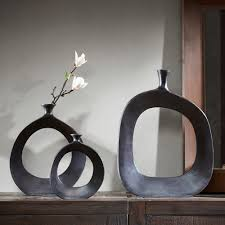 INK+IVY Hayes Peek Round Vase Collection