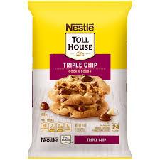 nestlÉ toll house triple chip cookie