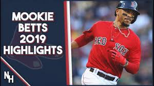 Mookie Betts 2019 Highlights - YouTube