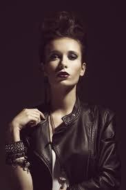 rocker style model portrait