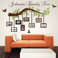 Customizable Picture Frame Branch Wall Decal Trendy Wall Designs Wall Design Wall Paint Designs Decor