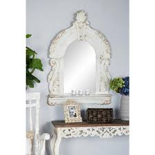 arched cathedral style antique white