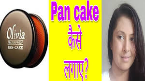 pan cake makeup video in hindi olivia