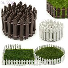Wood Fence Plant Potted Landscape Decor Accessories Miniature Terrarium Mini Barrier Diy Garden Kit Burang Shopee Philippines