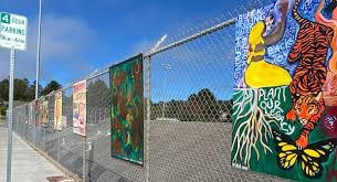 Art On The Fence Outdoor Exhibit Is An Inclusive Expression Of Different Voices And Experiences Times Standard