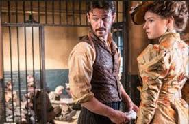 Ripper Street' co-stars Adam Rothenberg and Lydia Wilson in Fool ...