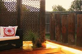 outdoor metal privacy screens