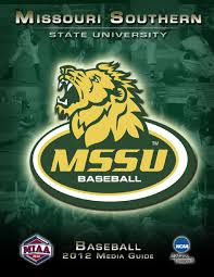 2012 MSSU Baseball Guide by Justin Maskus - issuu