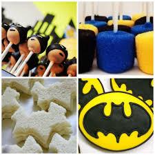 Dulces Y Aperitivos Para Cumpleanos De Batman Decoracion