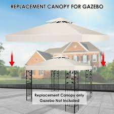 garden oasis lighted gazebo replacement