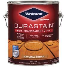 Wolman Durastain Semi Transparent Deck Siding Stain 1 Gal At Menards