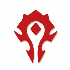 World Of Warcraft Horde Pvp Wow Vinyl Car Decal Sticker Vinyl Color Red 6 Inches Walmart Com Walmart Com