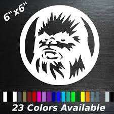 Wookie Chewbacca Decal Sticker Wish