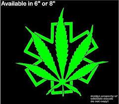 Medical Marijuana Decal Medic Star Of Life Pot Leaf Dispensary Vinyl Sticker 6 25 Picclick