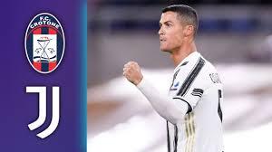 Crotone vs Juventus Highlights Matchday ...