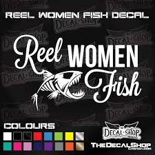 Ladies Hunting Fishing Decals