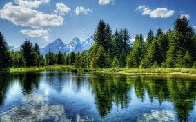 peaceful nature scenes for desktop we