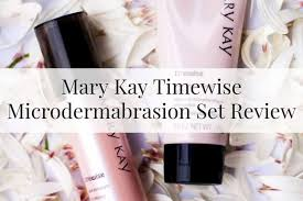 mary kay timewise microdermabrasion set