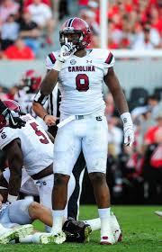 D.J. Wonnum, South Carolina, Weak-Side Defensive End