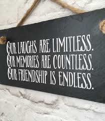 friendship quotes friendship quote gift for friend hanging sign