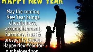 happy new year wishes quotes for son happy new year