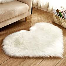 com faux fur sheepskin rug