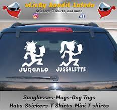 Juggalo Juggalette Icp Psychopathic Records Window Vinyl Decal Sticker Ebay