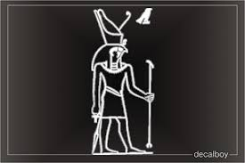 Horus Ancient Egyptian God Decal