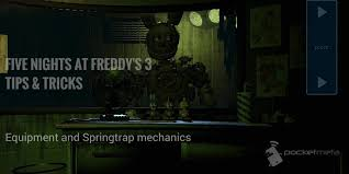 five nights at freddy s 3 tips tricks