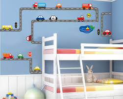 Cars Wall Decal Transportation Wall Decal Roadway By Studiowallart 155 00 Wall Decals Toddler Room Toddler Boys Room