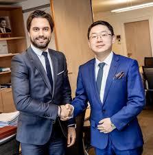 Rencontre avec Monsieur Tao (Wentao... - Georges-Louis Bouchez | Facebook