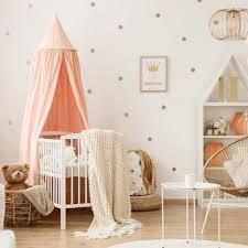 Cartoon Polka Dots Wall Sticker Baby Nursery Kids Room Nordic Gold Polka Dots Wall Decal Bedroom Living Room Vinyl Decor Star Wall Stickers Aliexpress