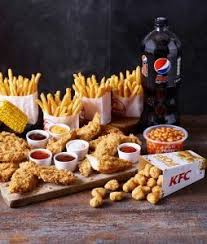 new kfc dipping boneless feast meal 4pc