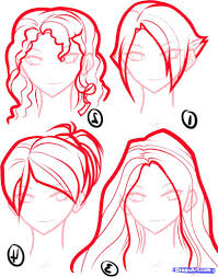 how to draw anime cartoon