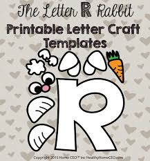 printable letter craft templates
