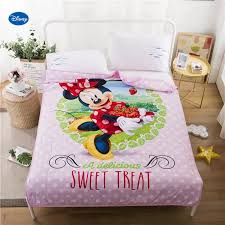 Pink Polka Dot Minnie Mouse Quilts Summer Comforters Bedding Cotton Cover Children S Baby Kids Bedroom Decor 150 200cm 200 230cm Comforters Duvets Aliexpress