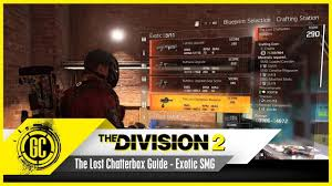 the lost chatterbox guide exotic smg