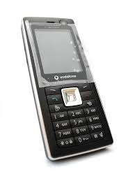 My Vodafone 550SH by Sharp (on white ...