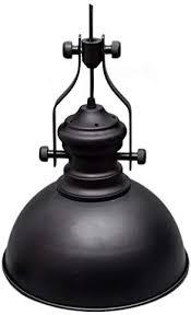 black metal pendant lighting fixture