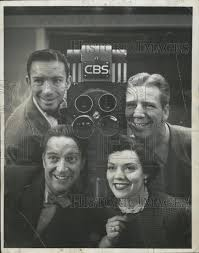 Singer Denise Lor on CBS 1954 Vintage Press Photo Print | Historic ...