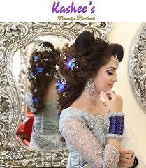 kashees beautiful bridal hairstyle