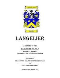langelier family history english